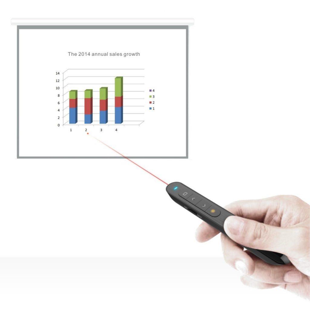 Telecommande présentation Doosl 2,4GHz USB